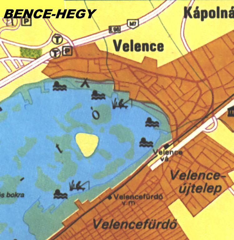velencefürdő térkép Velence térképe  html velencefürdő térkép